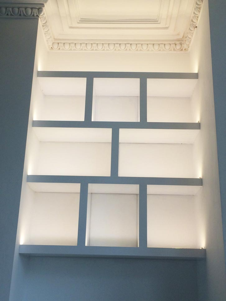 Alcove Shelving Lighting