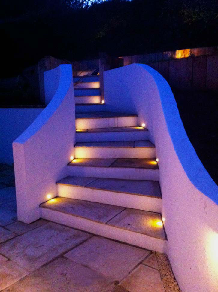 Garden Step Lighting